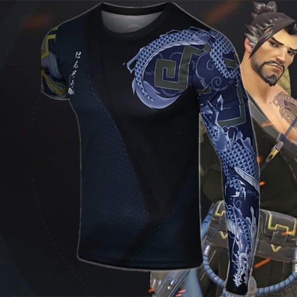 Overwatch Hanzo Long Sleeve T-shirt