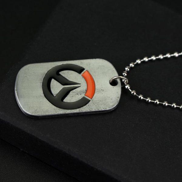 Overwatch Logo Necklace left