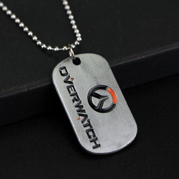 Overwatch Logo Necklace back