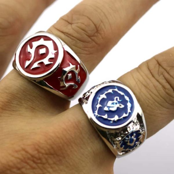 Hearthstone Rings - Alliance and Horde - HAND