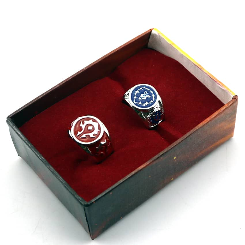 Hearthstone Rings - Alliance and Horde in a Box