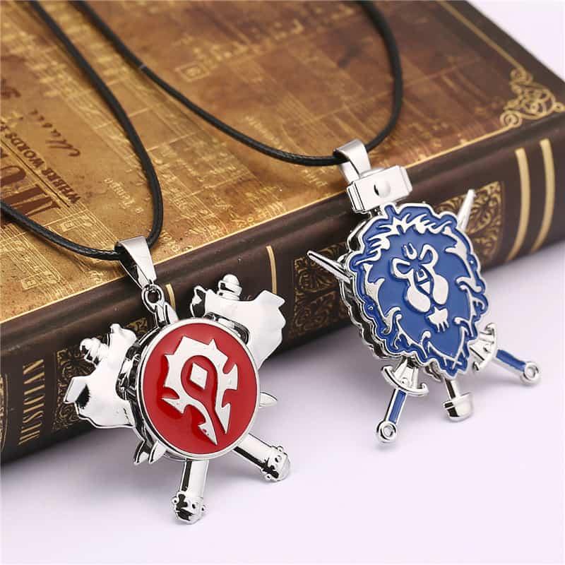 World of Warcraft Alliance and Horde Pendant