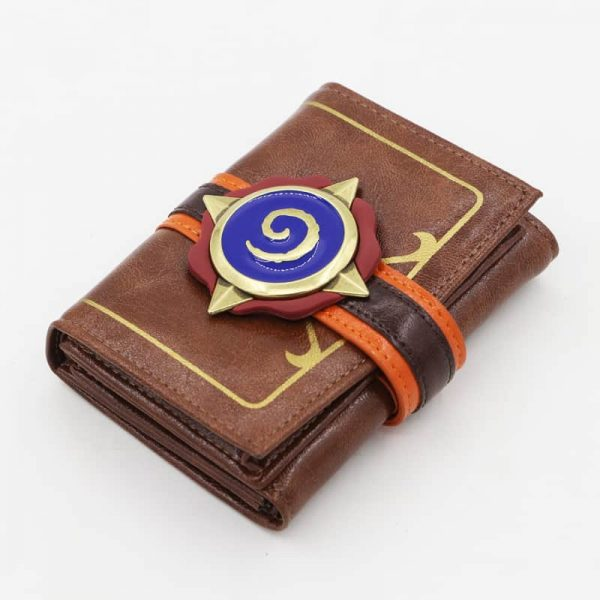 Hearthstone Embossed Leather Wallet 1