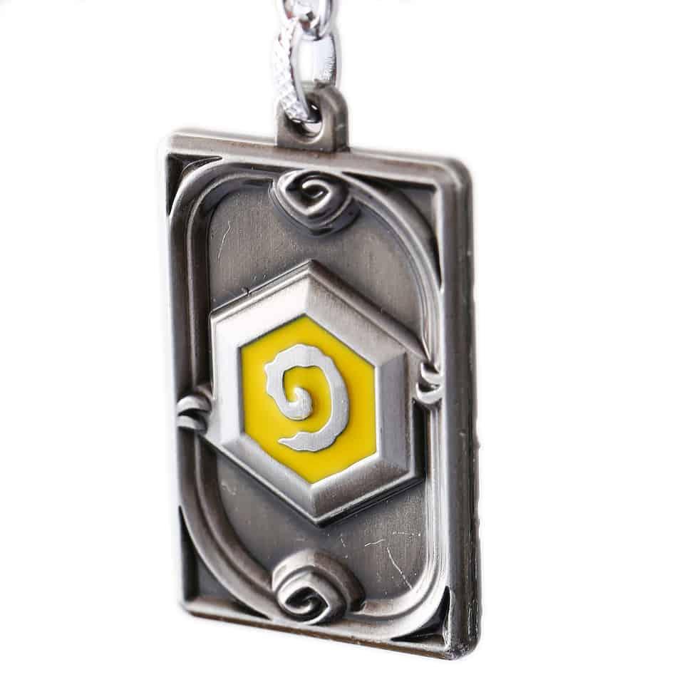 Hearthstone Keychain Silver