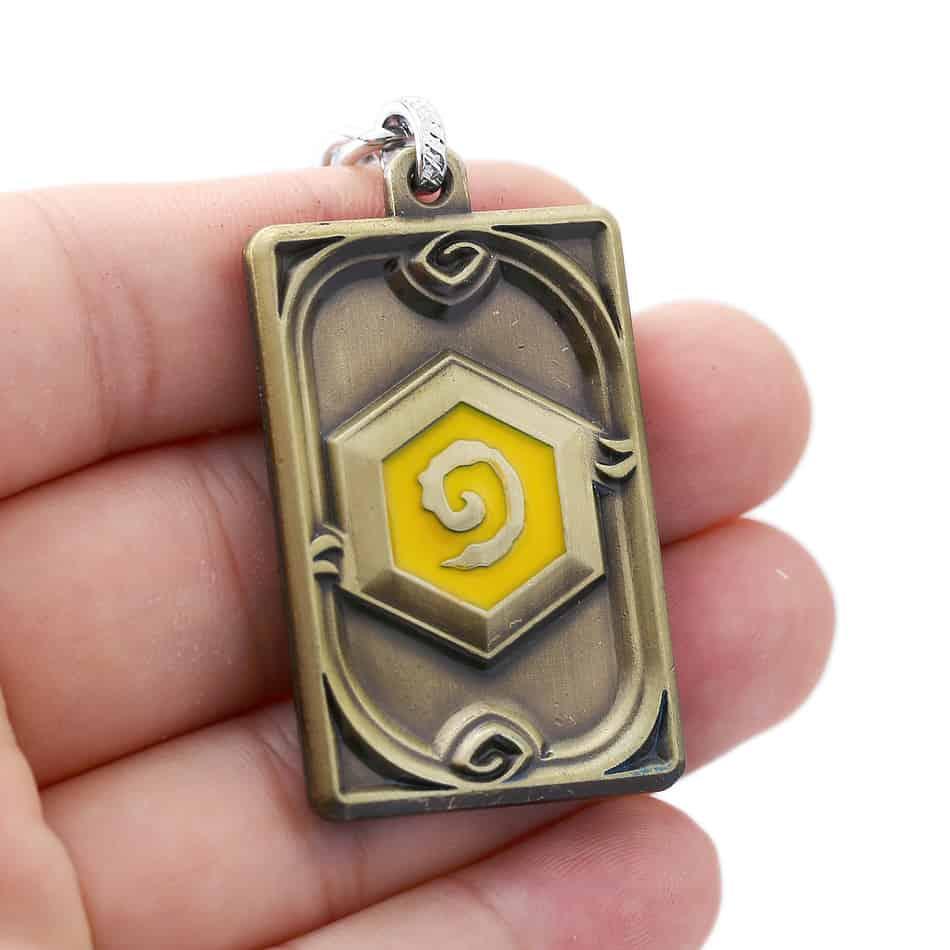 Hearthstone Keychain Bronze