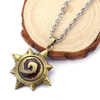 Hearthstone necklace - Red
