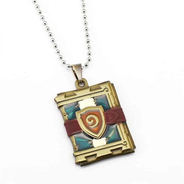 Hearthstone Card Pack Necklace - Gold