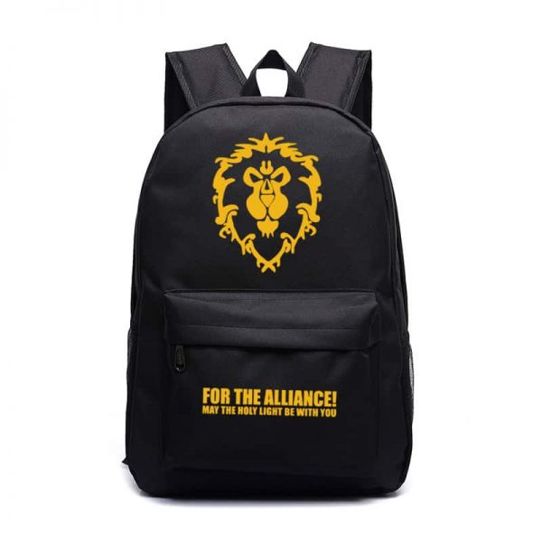 World of Warcraft For the Alliance Backpack - 9 Colors 1