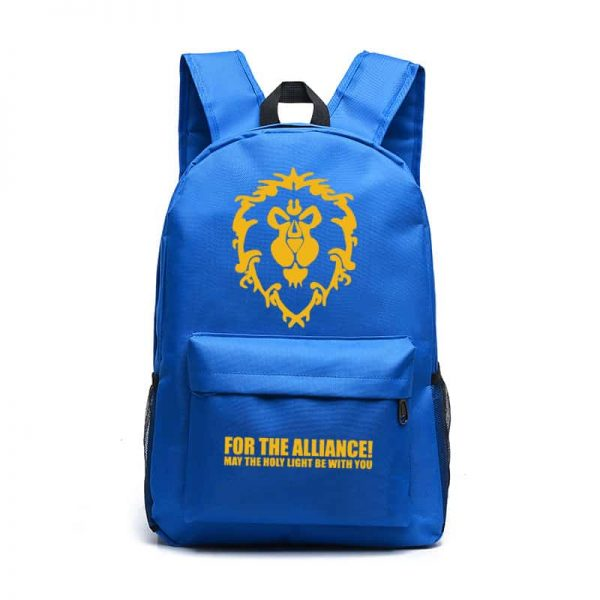 World of Warcraft Backpack Blue