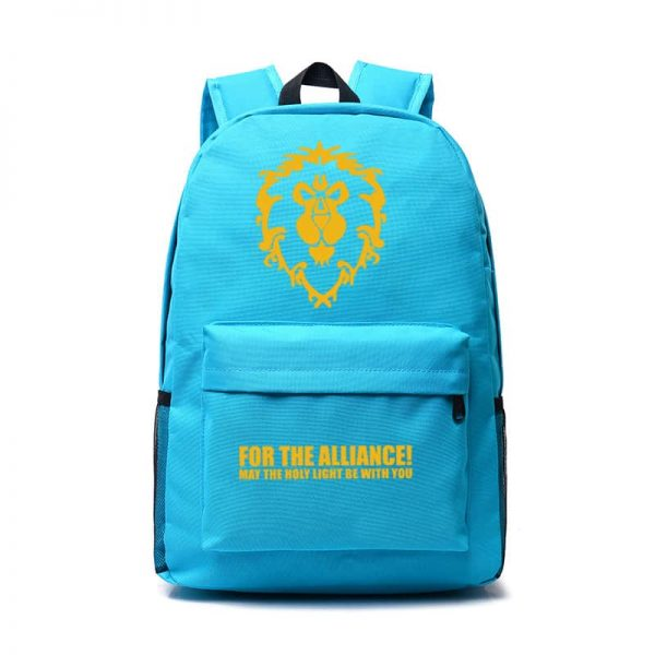 World of Warcraft Backpack Light Blue
