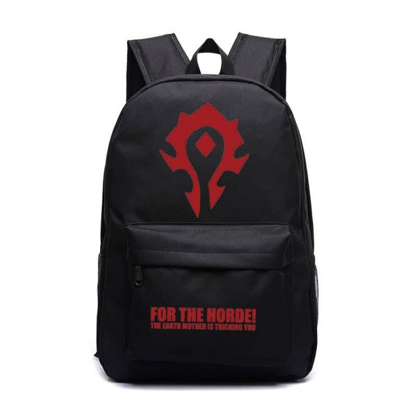 World of Warcraft For the Horde Backpack - 9 Colors 1