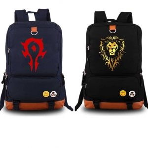 WoW Backpacks Ally and Horde