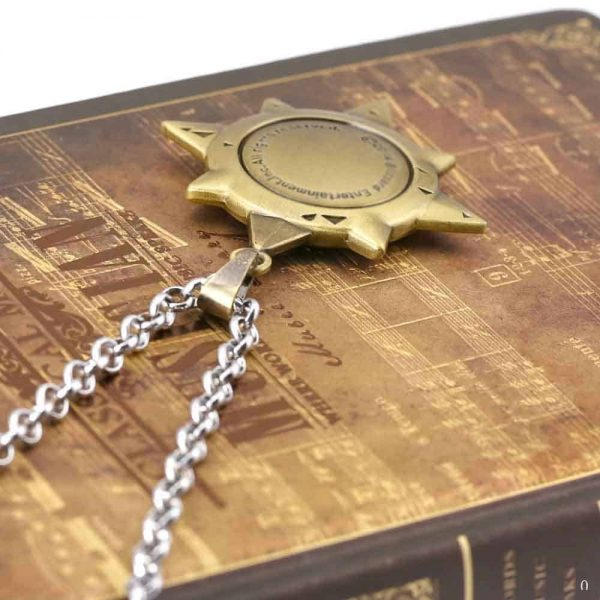 Buy Hearthstone Stainless Necklace Gold