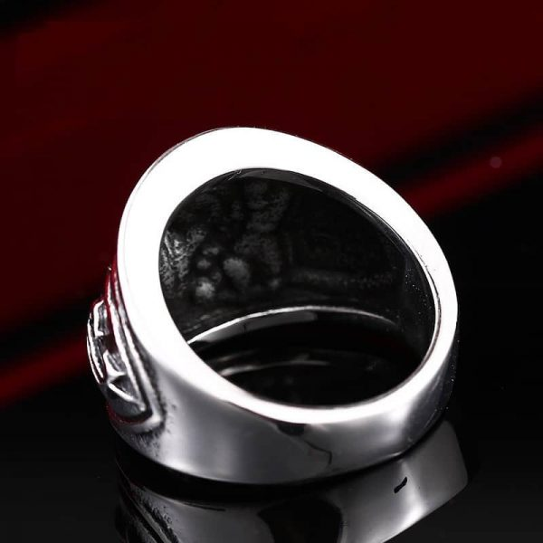 WoW Alliance Steel Ring