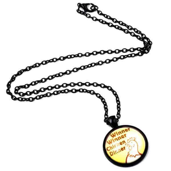 PlayerUnknown's Battlegrounds necklace Winner winner chicken dinner