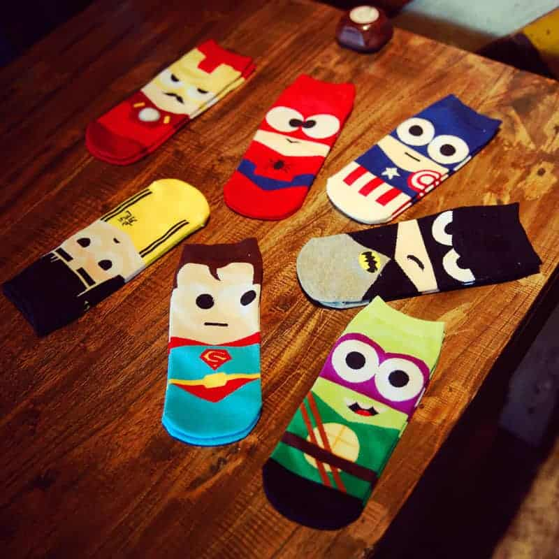 Buy Various Avengers Socks