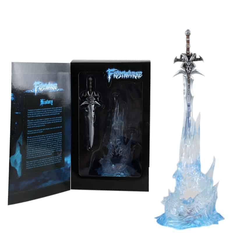 Frostmourne Statue with lightning throne