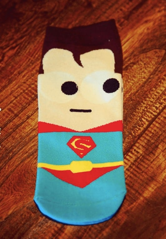 SuperHero Socks - SuperMan