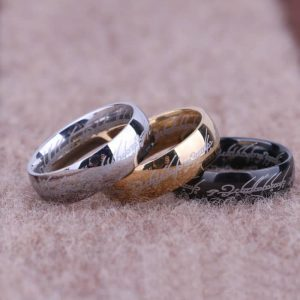 lord of the rings rings 3 colors