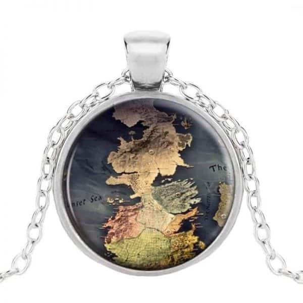GoT Westeros Pendant Silver
