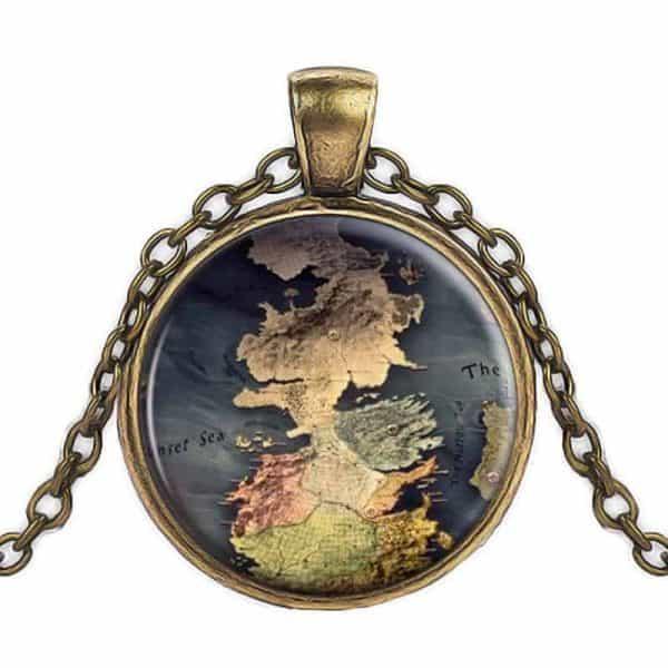 GoT Westeros Pendant Bronze