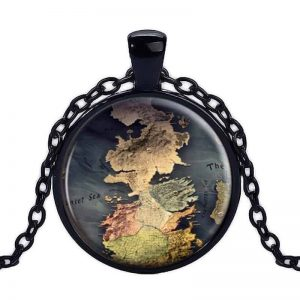 GoT Westeros Pendant Black