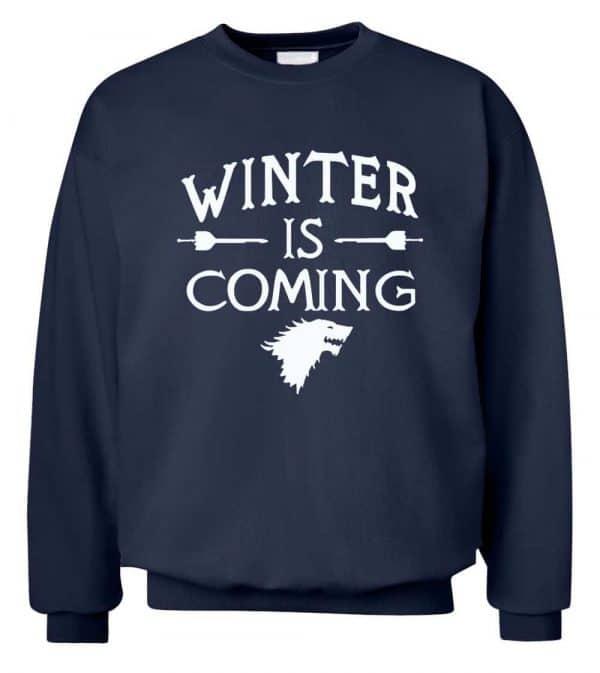 Game of Thrones Sweatshirts - Winter is Coming 1