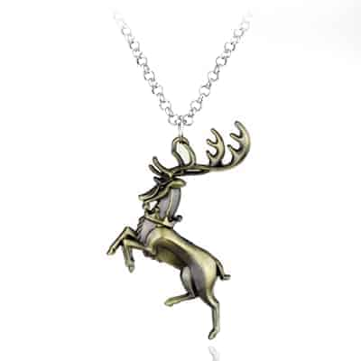 Game of Thrones Family Houses Necklaces - Baratheon Bronze