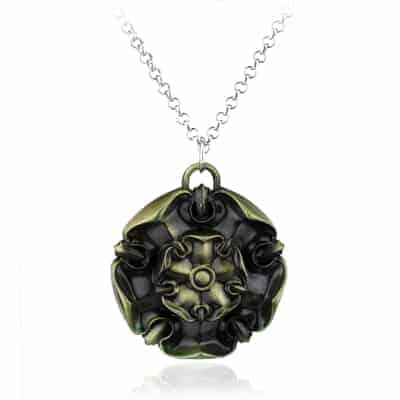 Game of Thrones Family Houses Necklaces - Tyrell Bronze
