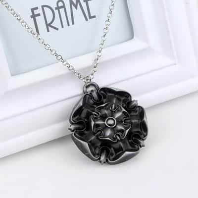 Game of Thrones Family Houses Necklaces - Tyrell Silver
