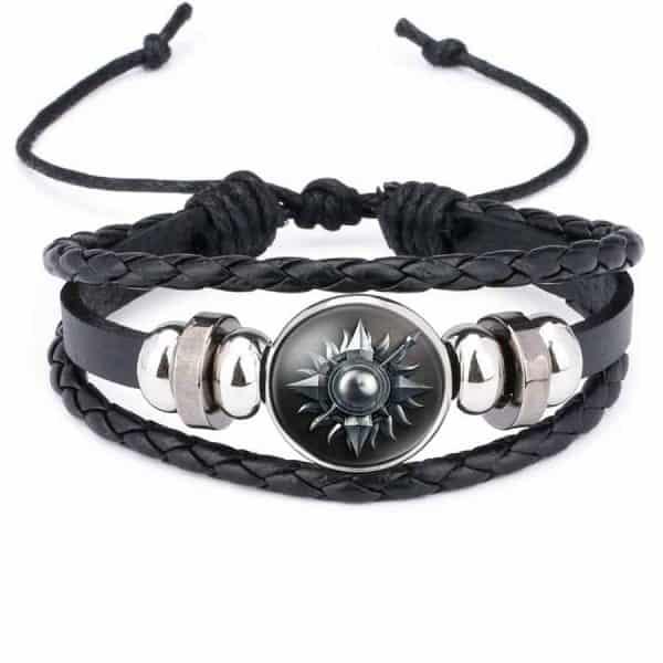 Game Of Thrones Unisex Leather Bracelet - Martell
