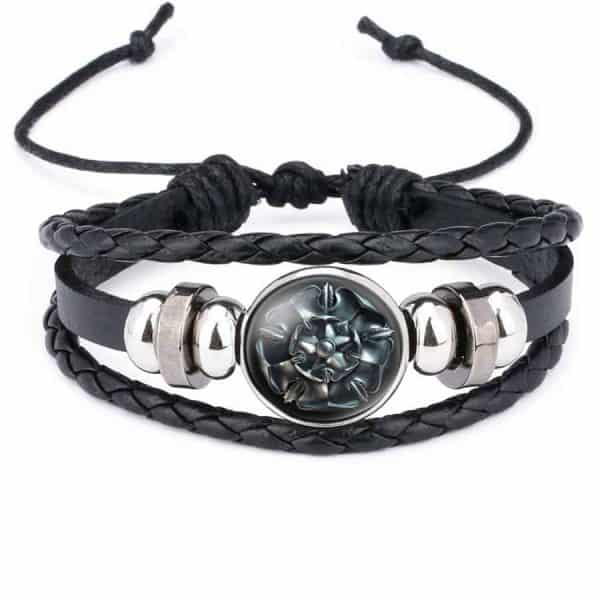 Game Of Thrones Unisex Leather Bracelet - House Tyrell