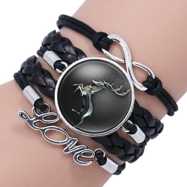 GoT Leather Bracelet for Woman - Baratheon