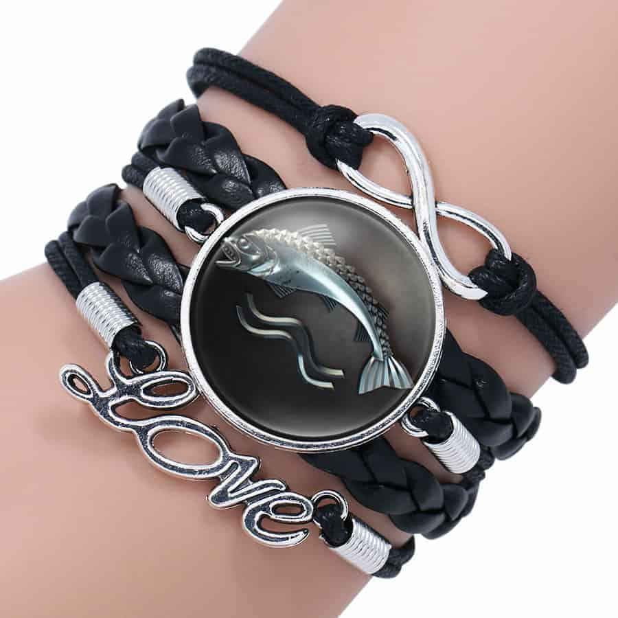 woman ball p new womans leather natural s un bracelet crystal