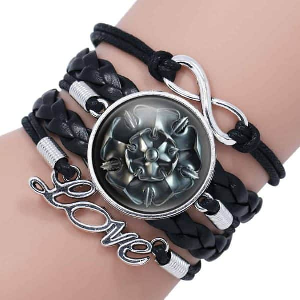 Game of Thrones Woman Leather Bracelet - House Tyrell