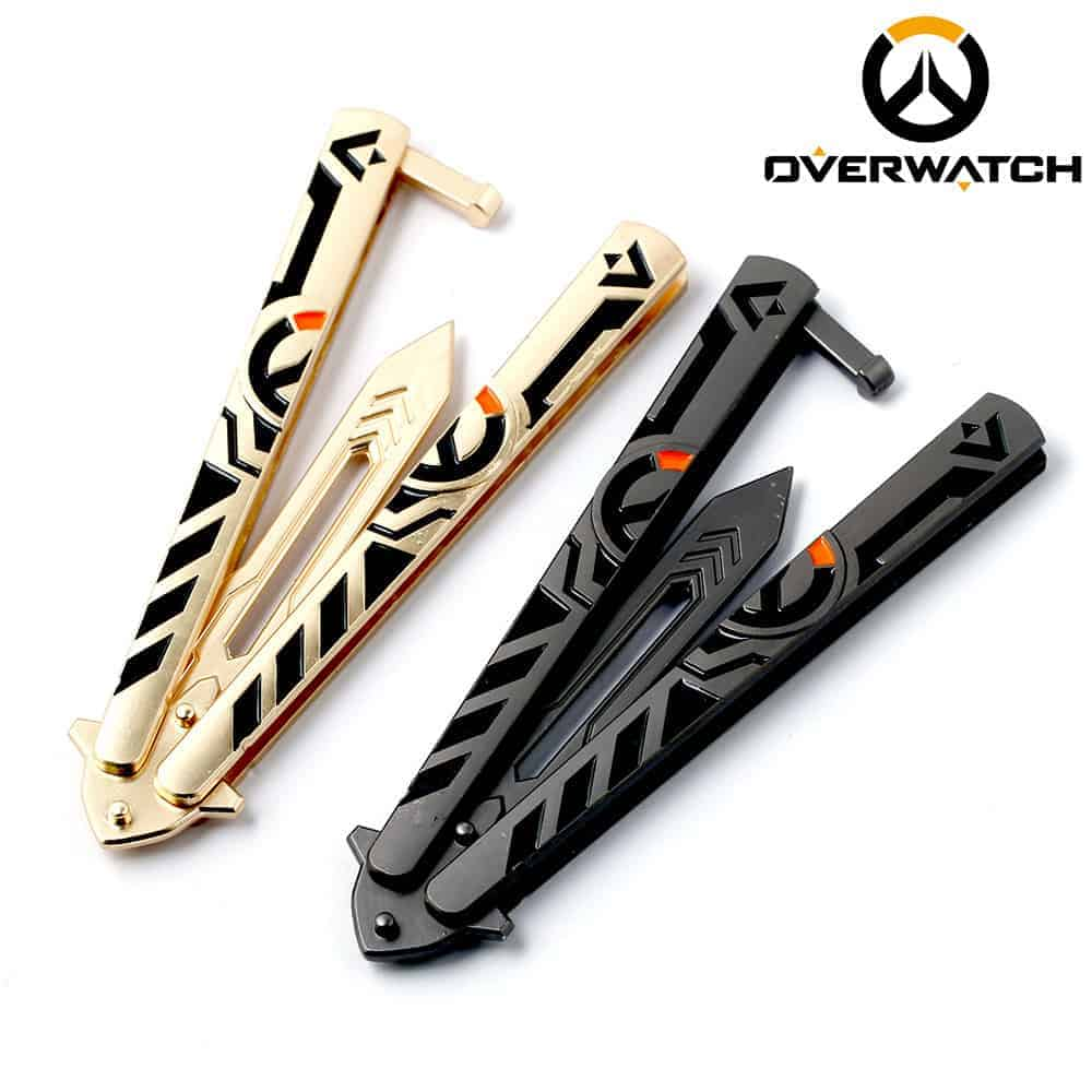 Overwatch Butterfly Metal Knife