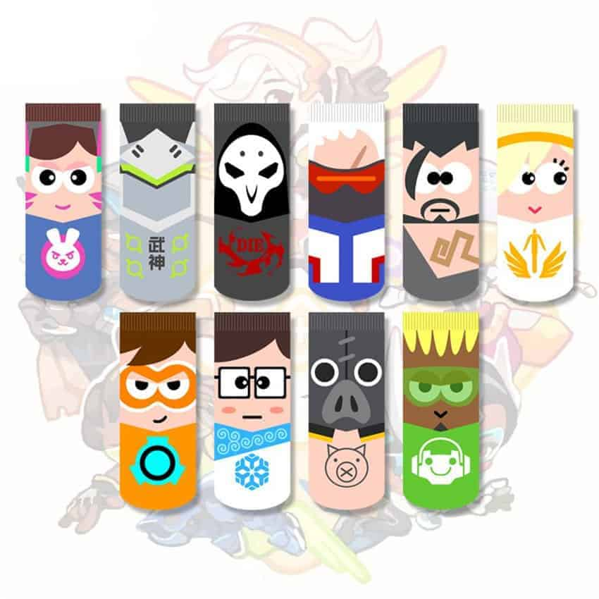 Overwatch Hero Socks