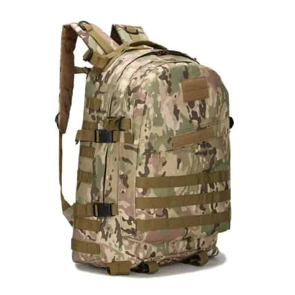 PUBG Level 3 Army Backpack Camouflage