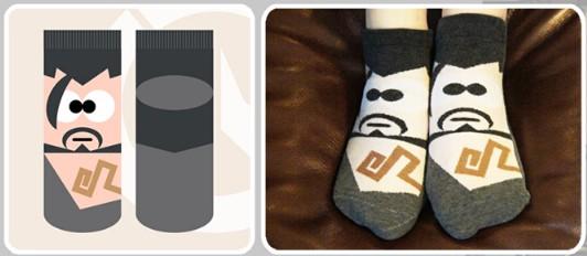 Overwatch Hero Socks 3