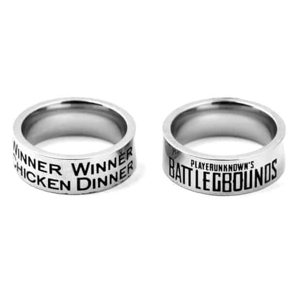 PUBG Ring with engraved caption
