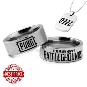 PUBG Stainless Steel Ring with Free gift