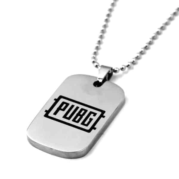 PUBG Stainless Metal Dogtag