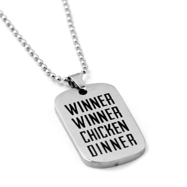 Playerunknown's Battlegrounds Stainless Metal Dogtag