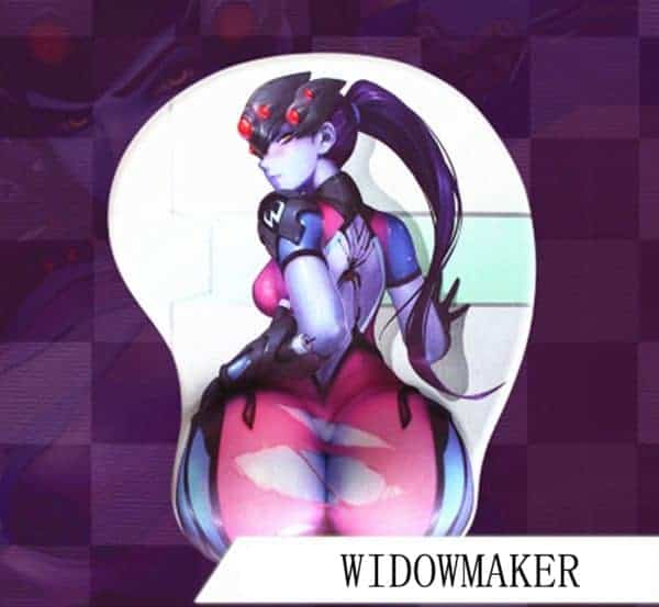 Widowmaker Mouse Pad