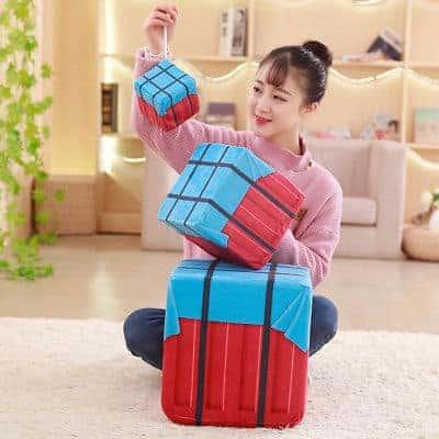 PUBG Airdrop Plush Box Toy
