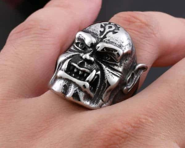 World of Warcraft Orc Ring