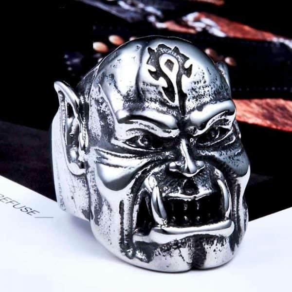 World of Warcraft Horde Orc Ring