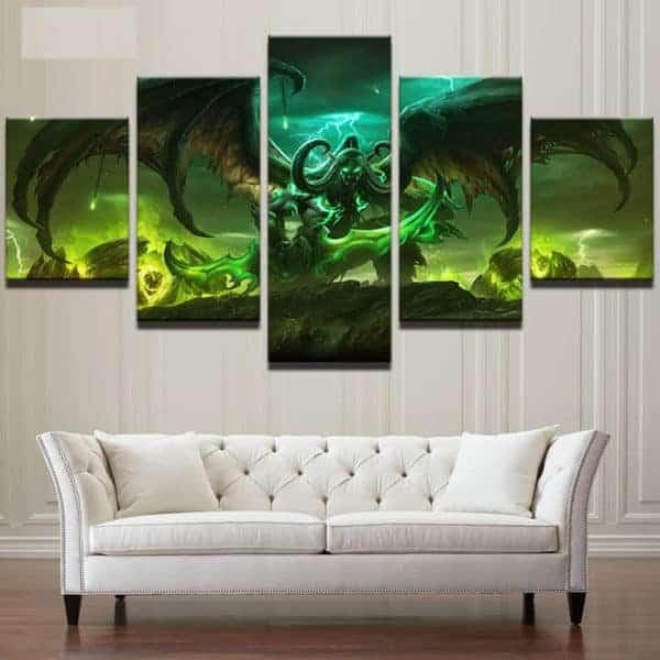 WoW Canvas Illidan