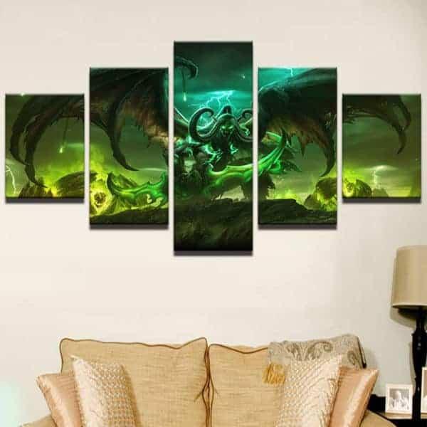 Warcraft Canvas Illidan