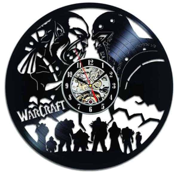 Battle for Azeroth Vintage Vinyl Wall Clock